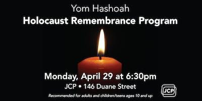 Yom Hashoah Holocaust Remembrance Program