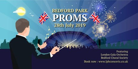Bedford Park Proms 2019 tickets