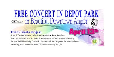Free Downtown Concert and Arts Fair