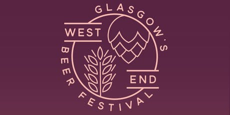 Glasgow's West End Beer Festival 2019 tickets