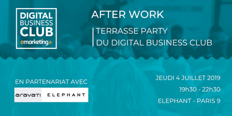 [AFTERWORK] - Terrasse Party du Digital Business Club billets