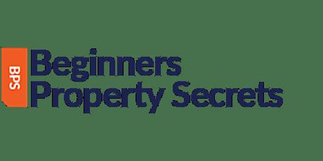 Beginners Property Secrets - 1 Day Workshop tickets