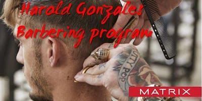 MATRIX CANADA EDUCATION - Harold Gonzales Barbering -March 31st 2019-