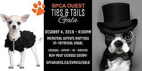 SPCA West Ties & Tails Gala / SPCA Ouest Gala Queues & Cravates tickets