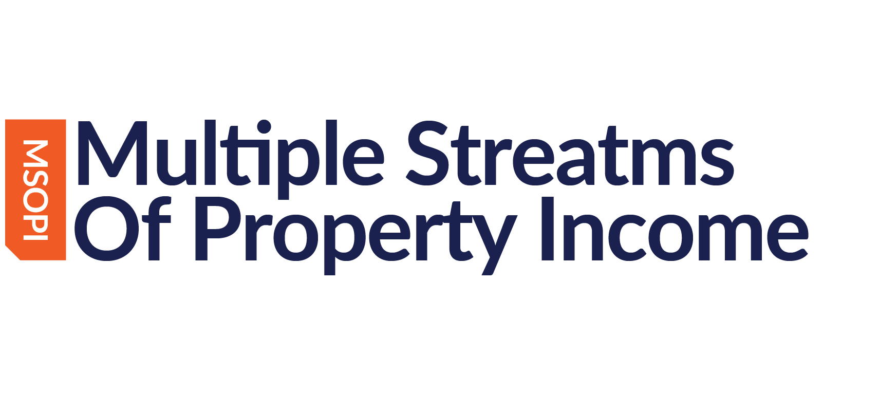 Multiple Streams of Property Income - 3 Day W