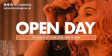 Leicester College Open Day 27 June 2019 tickets