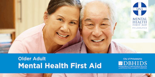 Older Adult Mental Health First Aid @ Merakey (November 13th & 14th)