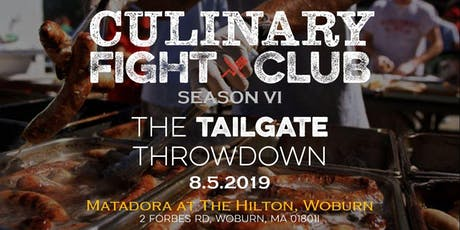 Culinary Fight Club - MA: The Tailgate Throwdown tickets