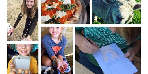 WK3 - Farm Camp - ART WEEK, Sour Dough & Pizza making, Jr. Farmer, All About Animals and More!