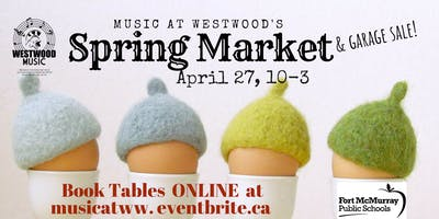 Westwood Music & Volunteerism Spring Market
