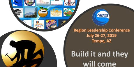 2019 ARMA Pacific Region Leadership Conference Registration tickets