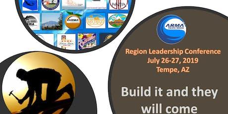 2019 ARMA Pacific Region Leadership Conference Registration tickets