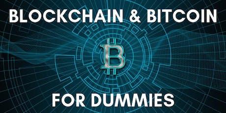 Blockchain & Bitcoin para Dummies tickets