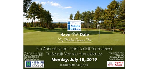 5th Annual Harbor Homes Golf Tournament