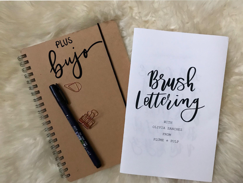 Brush Lettering Workshop Plus Bujo