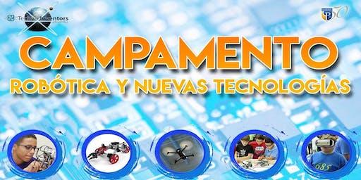 SUMMER CAMP STEM & ROBOTICS TECHNO INVENTORS