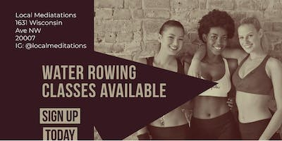 Body & Sculpt Water Rowing with Trap Music