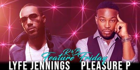 Lyfe Jennings, Pleasure P & more Live! tickets
