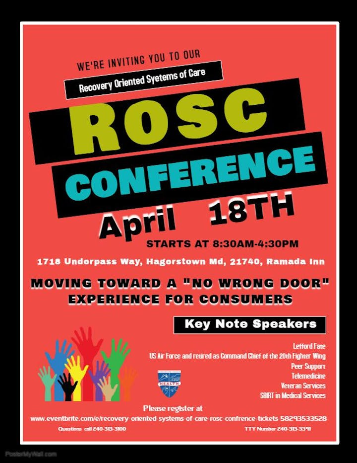 ROSC Conference flyer