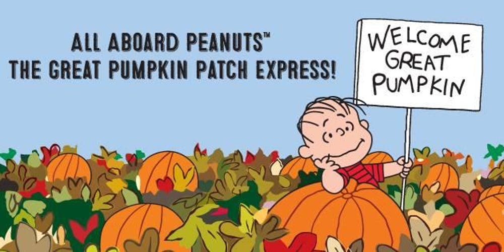 Peanuts The Great Pumpkin Patch Express