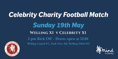 Celebrity Charity Football Match for Mind in Bexle