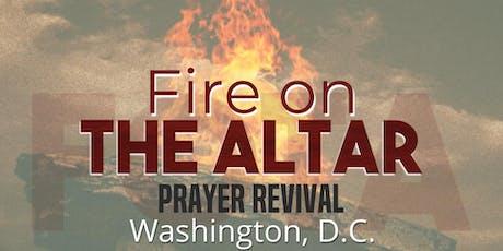 Fire On the Altar, Washington, DC tickets