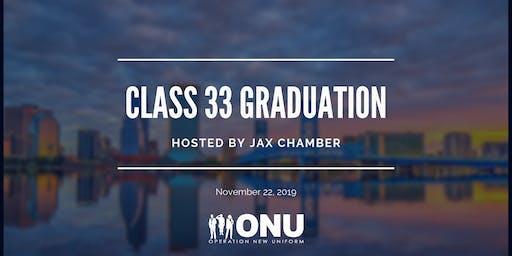 Class 33 Graduation Hosted by Jax Chamber featuring Keynote Speaker Aaron Bowman