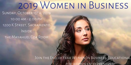 Sacramento Women in Business Brunch - End of Year Wrap Up & 2020 Planning! tickets