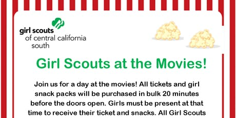 Girl Scouts at the Movies - Kings   tickets