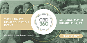 CBD360 Philly - The Ultimate Hemp Education Event for...