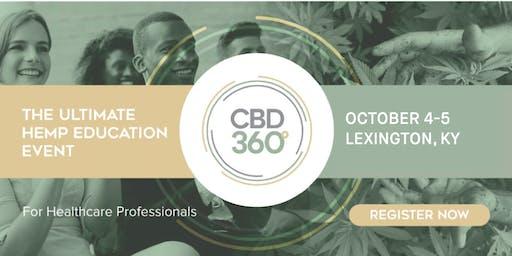 CBD360 Lexington - The Ultimate Hemp Education Event for Healthcare Professionals