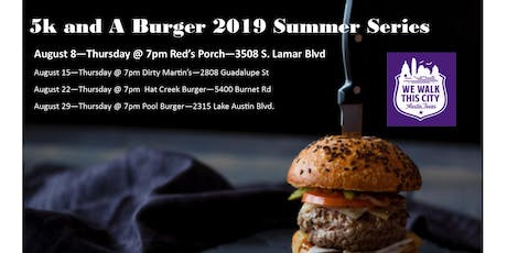 Red's Porch - Summer Series 5k and A Burger tickets