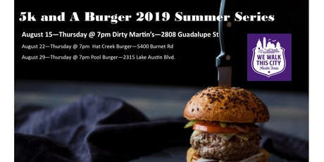 Dirty Martin's Summer Series 5k and A Burger tickets