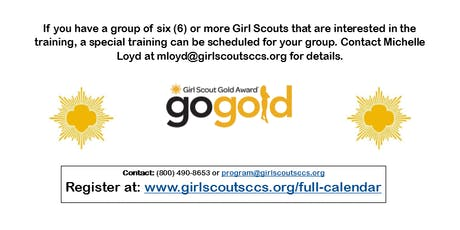 Gold Award Candidate Training - Fresno County tickets