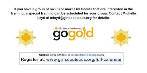 Gold Award Candidate Training - Fresno County