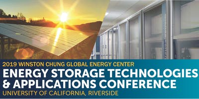 2019 Winston Chung Global Energy Storage Conference at UC Riverside