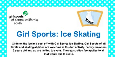 Girl Sports: Ice Skating - Fresno