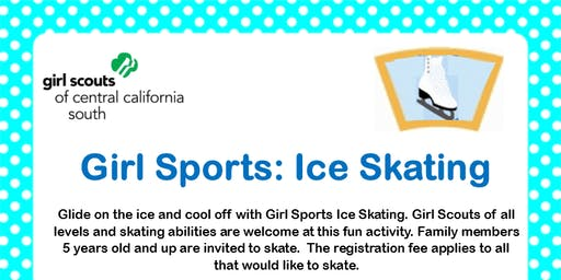 Girl Sports: Ice Skating - Kern