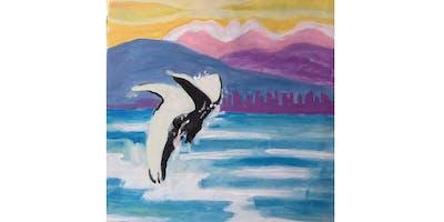 English Bay Paint & Sip Night - Art Painting, Drink & Food