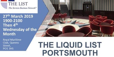 Liquid List Portsmouth - Forces Networking