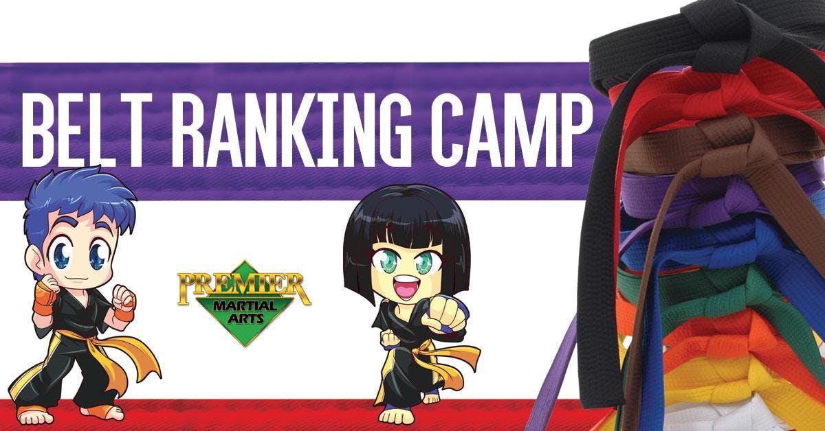 Belt Ranking Camp 2019 banner