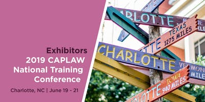 Exhibitors | 2019 CAPLAW National Training Conference