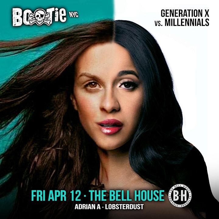 Bootie NYC: Generation X vs. Millennials image