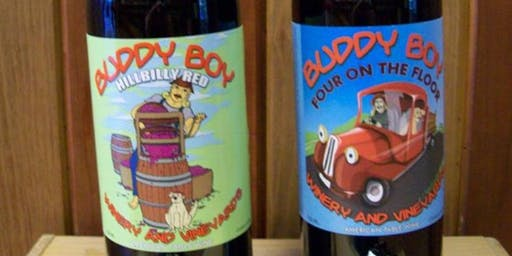 Yogi Expeditions Yoga and Wine Summer Tour: Buddy Boy Winery