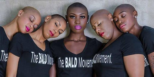 50 Shades of Bald Photo Shoot & Fireside Chat