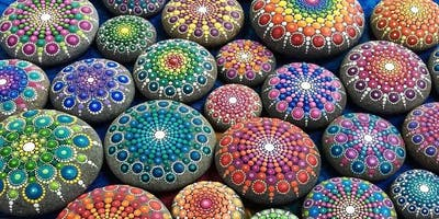 Mandala Rock Painting Workshop at Timberyard
