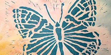 Lino Cut Printmaking Card Workshop tickets