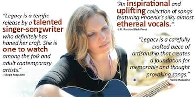 Up Close, and Personal - An Intimate Evening with Theda Phoenix
