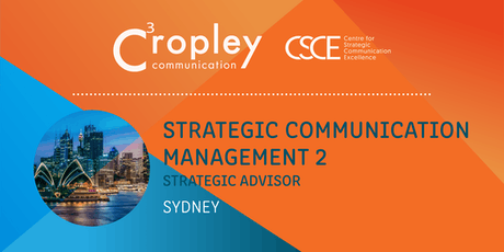 Strategic Communication Management 2: Strategic Advisor tickets