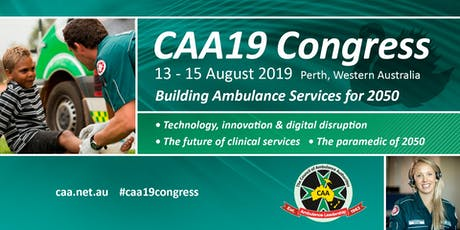 CAA19 Congress tickets